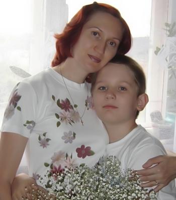 Я и сын Максим
