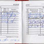 Зачётка Максима Метель, студента 2 курса Омского Государственного Технического Университета