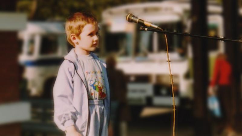 Макс на сцене. Развитие речи. Выступление